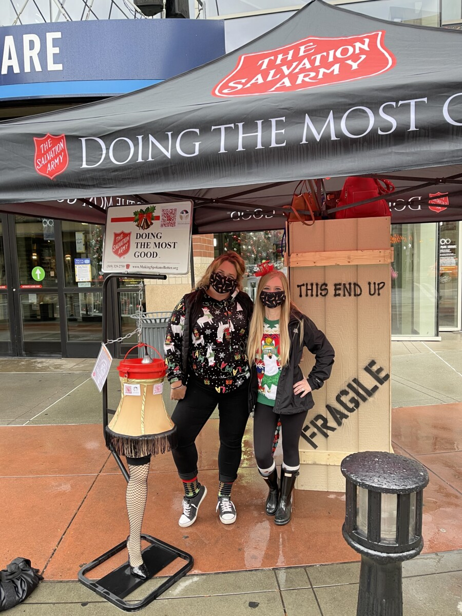 2020 Salvation Army Kettle Bell